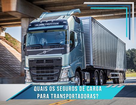 Seguros de Carga para Transportadoras